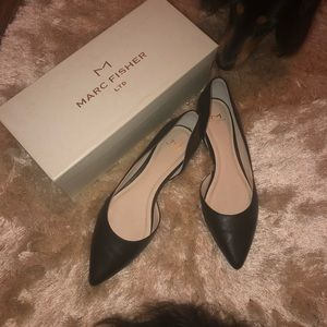 Black flats by Marc Fisher